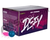 D3FY Sports Level 1 Practice 500 Round Paintballs - Blue Shell Pink Fill ( .68 Caliber )