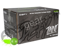 D3FY Sports Level 1 Practice 100 Round Paintballs - Green Shell Green Fill ( .68 Caliber )