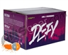 D3FY Sports Level 1 Practice 500 Round Paintballs - Grey/Orange Shell Orange Fill ( .68 Caliber )