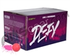 D3FY Sports Level 1 Practice 100 Round Paintballs - Pink Shell Pink Fill ( .68 Caliber )