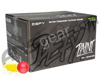 D3FY Sports Level 1 Practice 2,000 Round Paintball Case - Pink Shell Yellow Fill ( .68 Caliber )