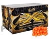 DXS Gold 2,000 Round Paintball Case - Magma Shell Yellow Fill ( .68 Caliber )