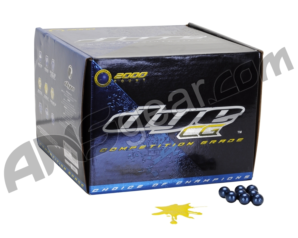 CG Paintballs Case 2000 Rounds - Yellow Fill