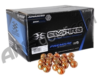 Empire El Tigre Paintballs Case 2000 Rounds - Orange Fill