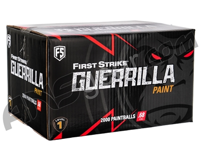 First Strike Guerrilla 500 Round Paintballs - Lime Fill ( .68 Caliber )
