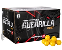 First Strike Guerrilla 2,000 Round Paintball Case - Yellow Fill ( .68 Caliber )