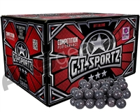 GI Sportz Carbon Fibre Paintballs Case 500 Rounds - Pink Fill
