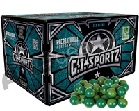 GI Sportz 1 Star 1,000 Round Paintballs - Green Fill ( .68 Caliber )