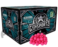 GI Sportz 1 Star 500 Round Paintballs - Pink Fill ( .68 Caliber )