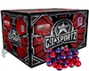 GI Sportz 3 Star 1,000 Round Paintballs - Ruby/Imperial Shell Pink Fill ( .68 Caliber )