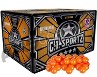 GI Sportz 4 Star Paintball Case 500 Rounds - Orange Fill