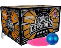 GI Sportz 4 Star 1,000 Round Paintballs - Pink Fill ( .68 Caliber )