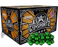 GI Sportz 4 Star 100 Round Paintballs - Yellow Fill ( .68 Caliber )