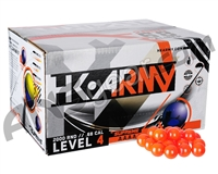 HK Army Supreme 500 Round Paintballs - Yellow Fill ( .68 Caliber )