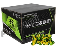 Empire Marballizer 100 Round Paintballs - Green Fill ( .68 Caliber )