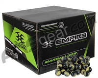 Marballizer Paintballs Case 100 Rounds - Neon Yellow Fill