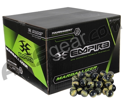 Marballizer Paintballs Case 1000 Rounds - Neon Yellow Fill