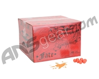 Valken Fate 2,000 Round Paintball Case - Orange Fill ( .68 Caliber )