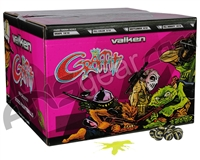Valken Graffiti 2,000 Round Paintball Case - Yellow Fill ( .68 Caliber )
