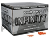 Valken Infinity 2,000 Round Paintball Case - Orange Fill ( .68 Caliber )