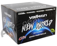 Valken New World Paintball Case 2000 Rounds - Yellow Fill