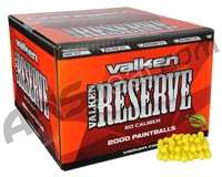 Valken Reserve 2,000 Round Paintball Case - Yellow Fill ( .50 Caliber )