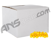 White Box .50 Caliber Paintballs Case 2000 Rounds - Yellow Fill