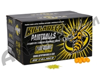 WPN Killa Beez Paintballs Case 1000 Rounds - Yellow Fill