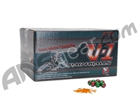 XO V-1 Paintballs Case 100 Rounds - Orange Fill