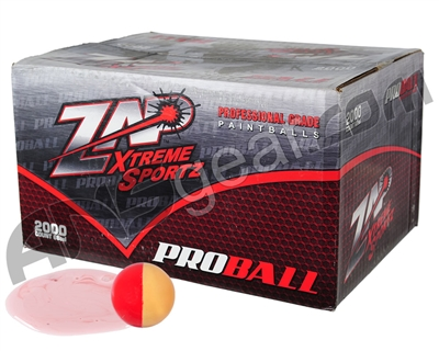 ZAP Proball 100 Round Paintball Case - White Fill ( .68 Caliber )