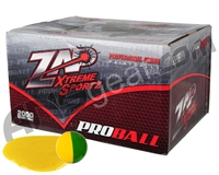 ZAP Proball 1,000 Round Paintball Case - Yellow Fill ( .68 Caliber )