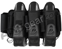 Pinokio 3+6 Paintball Harness - Black/Grey
