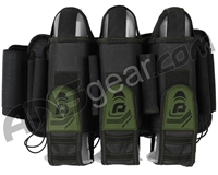 Pinokio 3+6 Paintball Harness - Black/Olive