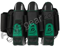 Pinokio 3+6 Paintball Harness - Black/Green