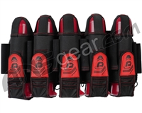Pinokio 5+8 Paintball Harness - Black/Red
