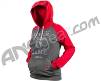 Planet Eclipse 2015 Womens Triumph Hooded Sweatshirt - Red/Charcoal