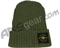 Planet Eclipse Worker Beanie - Moss Green