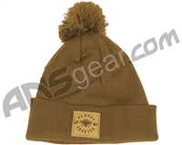 Planet Eclipse Worker Pom Beanie - Caramel