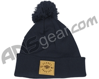 Planet Eclipse Worker Pom Beanie - French Navy