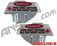 Planet Eclipse Geo CS2 Eye Cover Kit - Danger Laser