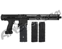 Planet Eclipse EMEK MG100 (PAL Enabled) Mag Fed Paintball Gun - Black w/ 2 Additional (20 Round) Magazines
