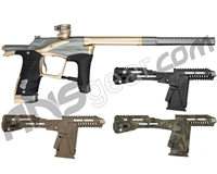 Planet Eclipse Ego LV1.1 Paintball Gun w/ Free Gemini EMC Kit - Medium Grey/Rose Gold