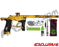 Planet Eclipse Ego LV1.5 Paintball Gun - Polished Acid Wash Gold