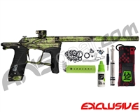 Planet Eclipse Ego LV1.5 Paintball Gun - Polished Acid Wash Lime