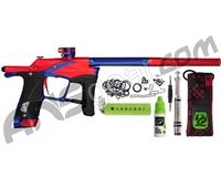 Planet Eclipse Ego LV1.5 Paintball Gun - Red/Blue