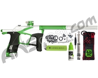 Planet Eclipse Ego LV1.5 Paintball Gun - Silver/Apple Green