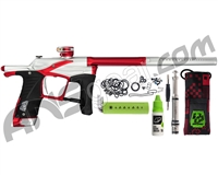 Planet Eclipse Ego LV1.5 Paintball Gun - Silver/Red