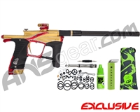 Planet Eclipse Ego LV1.6 Paintball Gun w/ Diamond Cut - Fire Opal