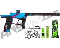 Planet Eclipse Ego LV1.6 Paintball Gun - Teal/Purple
