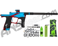 Planet Eclipse Ego LV1.6 Paintball Gun - Teal/Red